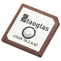 CGGP.18.2.A.02 GPS/GALILEO/GLONASS 18*18*2mm Dual-Band Patch Antenna