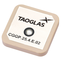 CGGP.25.4.E.02 25*25*4mm GPS/GLONASS/GALILEO Dual-Band Patch Antenna