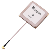 ISPC.86A 868MHz 5dBi Ceramic Patch Antenna, 92mm RG-178 49.5*49.5*7.5mm