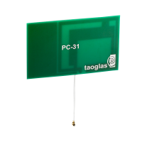 PC31 868/915MHz FR4 PCB Antenna, 50mm Ø1.13