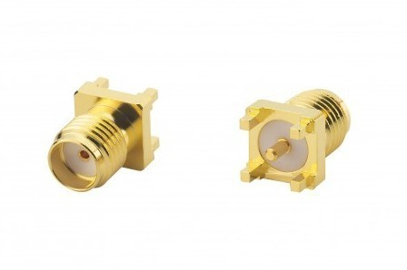 SMA Straight PCB Mount (front & back)