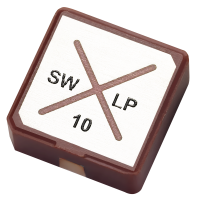 SWLP.2450.10.4.A.02 2.4GHz 10*10*4mm SMD Patch Antenna