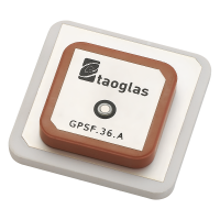 GPSF.36 GPS L1/L2 36*36*7mm Single Feed Stacked Patch Passive Antenna