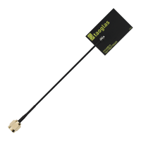 AccuraUWB FXUWB10.01 3-10GHz Ultra Wideband (UWB) Flex Antenna with 100mm 1.37mm & SMA(M)