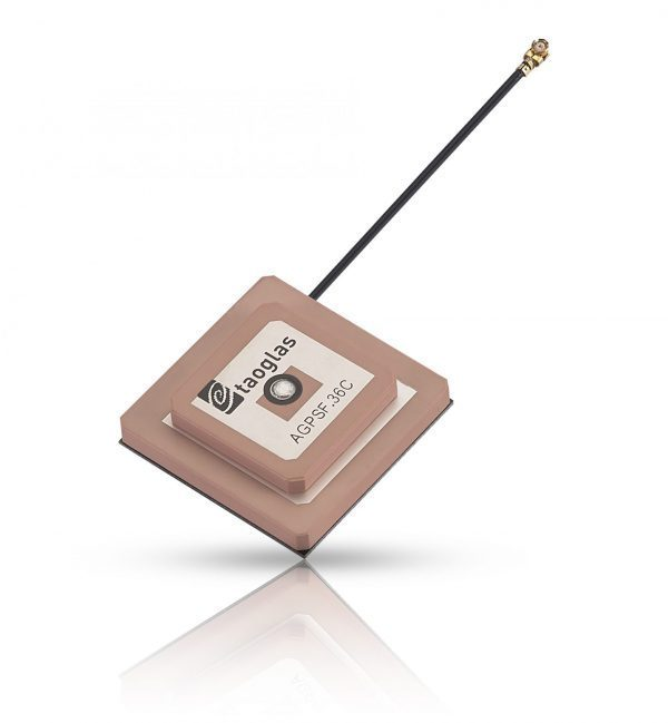 embedded active GPS L1/L2 stacked patch antenna, supporting both L1 and L2 bands.