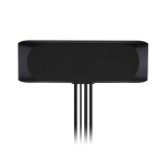 MA244 High Temperature Genesis 4-in-1 GNSS, 2*Cellular, Wi-Fi Adhesive Mount Low-Profile Antenna