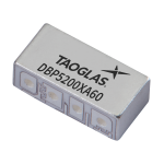 Airvu Series Dielectric Band Pass Filter for 5.2 GHz Applications