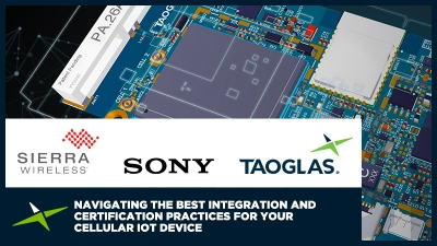 Image for Live Webinar:  Navigating the best integration and certification practices for your cellular IoT device