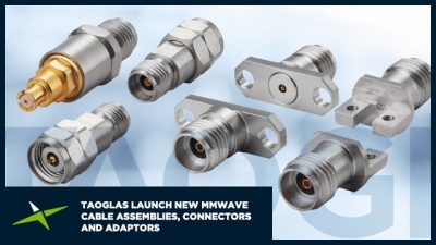 Image for Taoglas Continues to Trailblaze in mmWave Technology Introducing a new, Innovative Range of High-frequency mmWave Cable Assemblies, Connectors and Adaptors