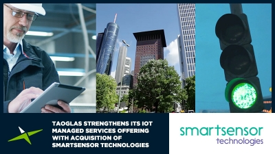 Image for Taoglas Strengthens its IoT Managed Services Offering with Acquisition of Smartsensor Technologies