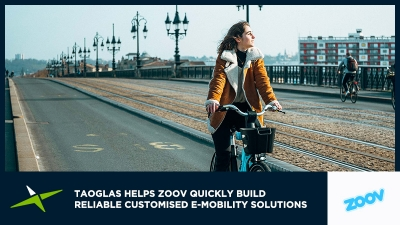 Image for Case Study: Taoglas helps Zoov quickly build reliable customised e-mobility solutions
