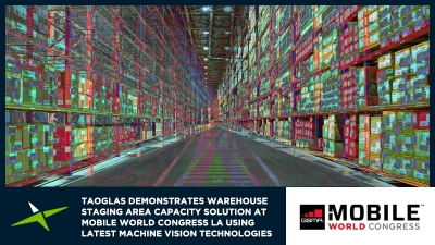 Image for Taoglas Demonstrates Warehouse Staging Area Capacity Solution at Mobile World Congress LA Using Latest Machine Vision Technologies